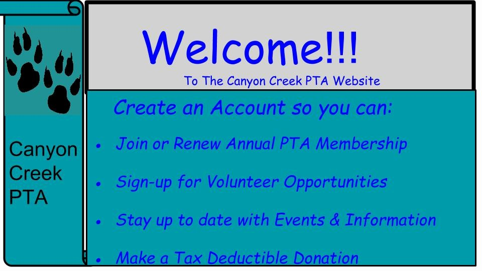 Pta Meeting Sign In Sheet Luxury Canyon Creek Pta