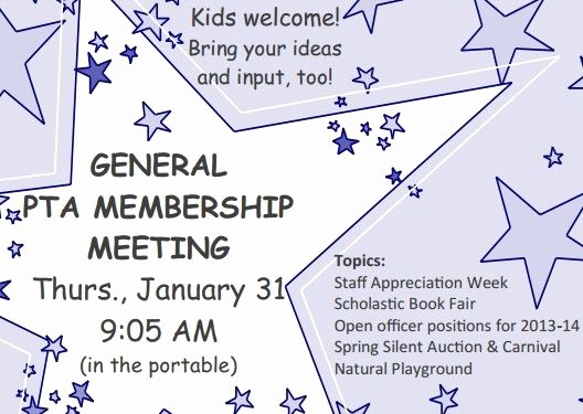 Pta Meeting Sign In Sheet New Pta Grass Valley Elementary Pto Pinterest