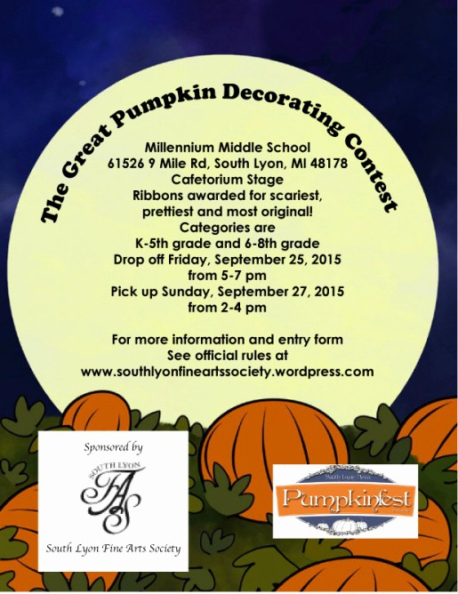 Pumpkin Carving Contest Flyer Template Awesome events
