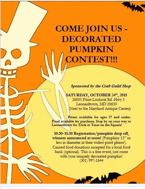 Pumpkin Carving Contest Flyer Template Awesome Pumpkin Decorating Contest Flyer Template Halloween Carve