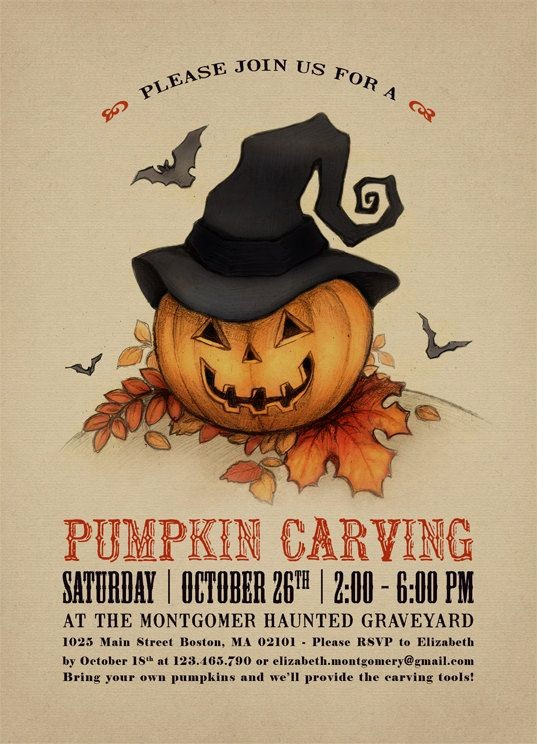 Pumpkin Carving Contest Flyer Template Elegant 36 Best Halloween Contest Flyers Images On Pinterest