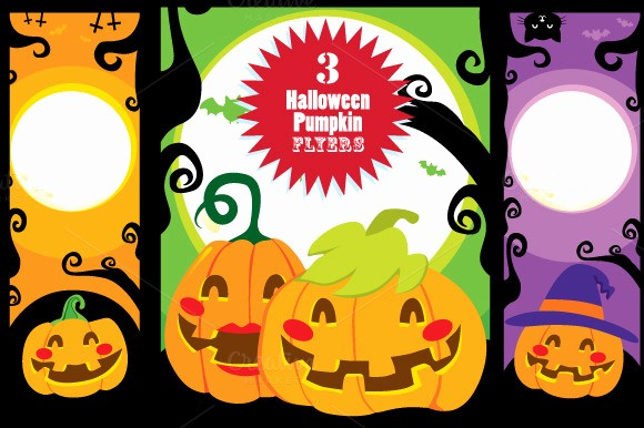 Pumpkin Carving Contest Flyer Template Elegant Halloween Pumpkin Banners