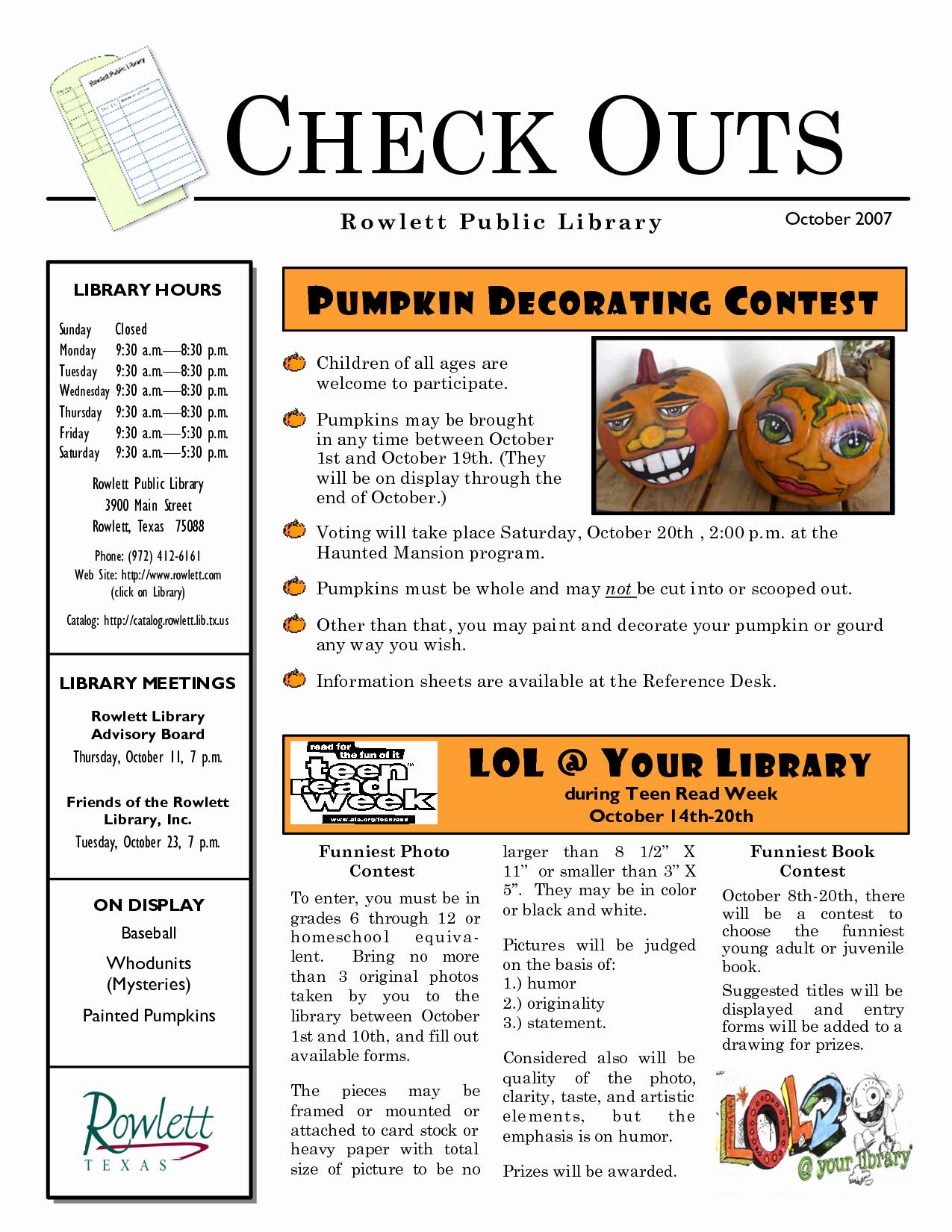 Pumpkin Carving Contest Flyer Template Fresh Library Pumpkin Contest Flyer Google Search