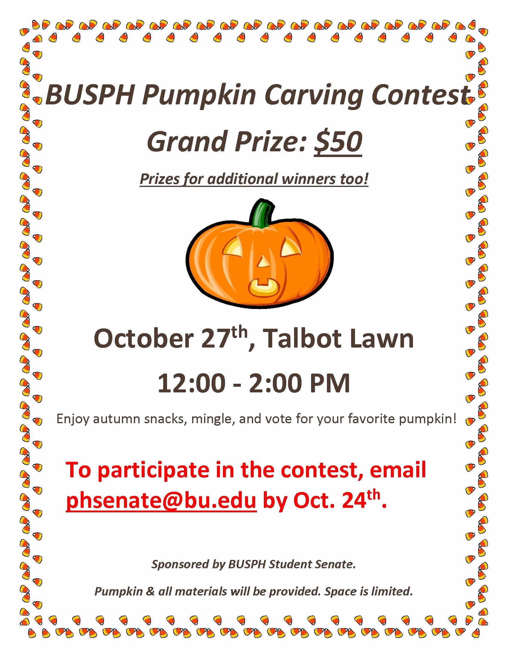 Pumpkin Carving Contest Flyer Template Inspirational Busph Pumpkin Carving Contest – Oct 27th On Talbot Green