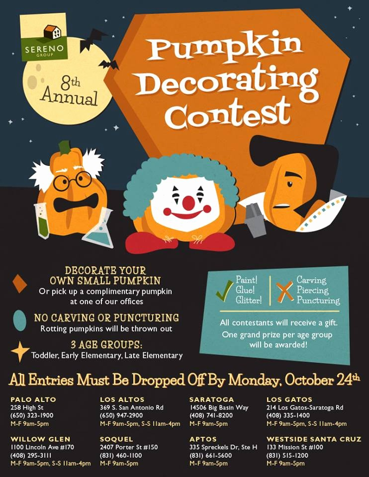 Pumpkin Carving Contest Flyer Template Lovely Benford Real Estate