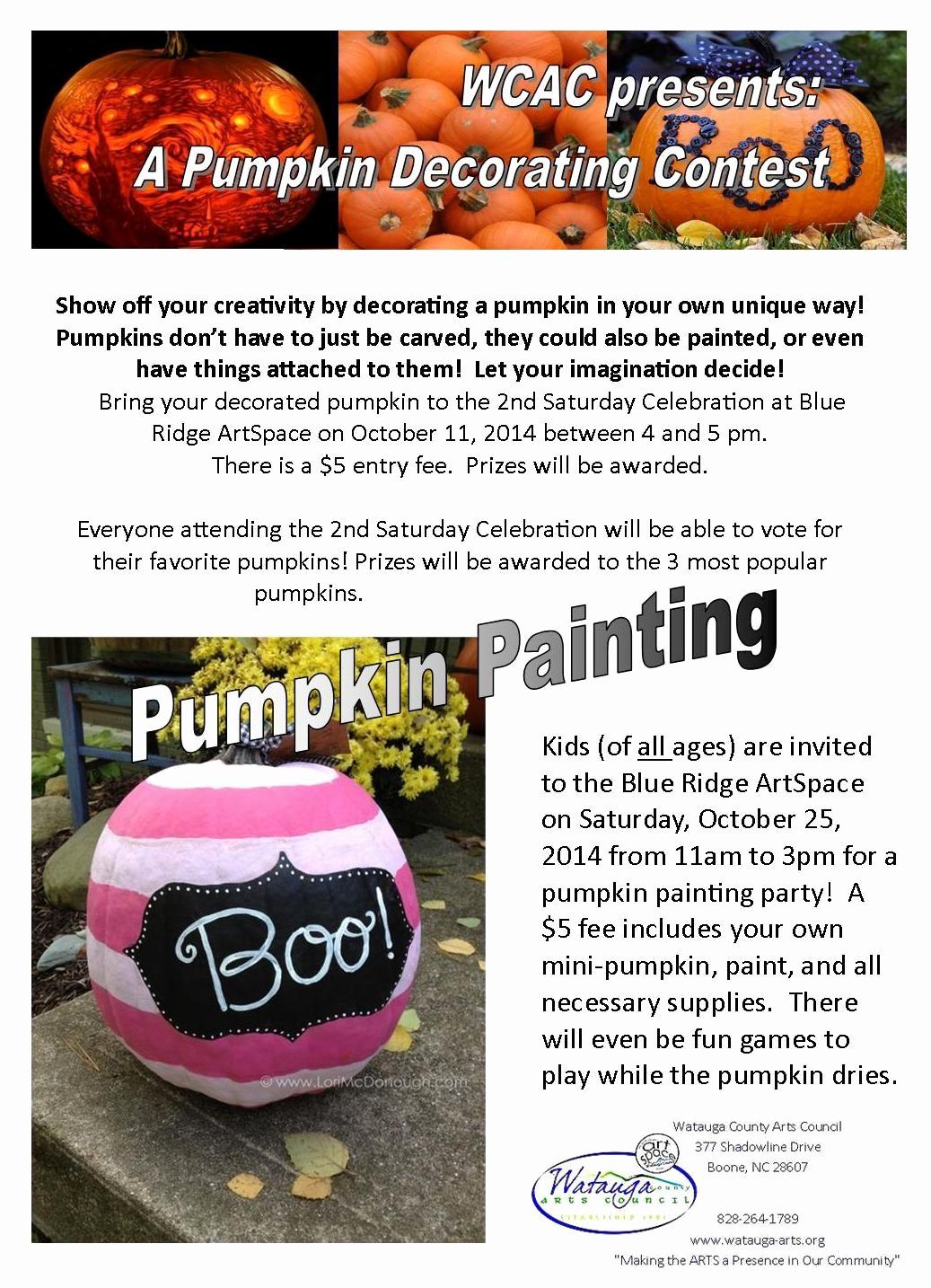 Pumpkin Carving Contest Flyer Template Luxury Pumpkins