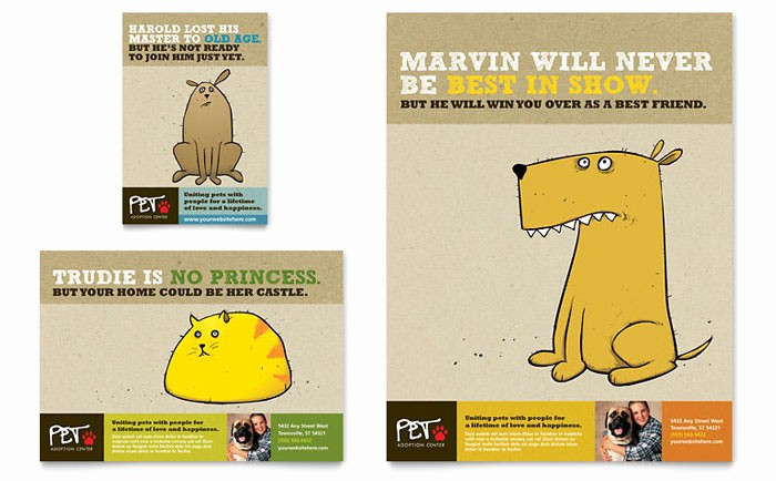 Puppies for Sale Flyer Template Awesome Animal Shelter & Pet Adoption Flyer & Ad Template Design