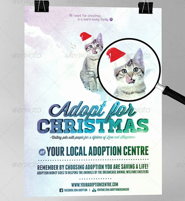 Puppies for Sale Flyer Template Beautiful 14 Adoption Flyer Designs & Templates Psd Ai