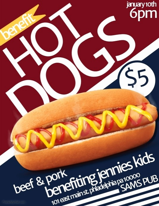 Puppies for Sale Flyer Template Inspirational Hot Dog Sale Flyer to Pin On Pinterest Pinsdaddy
