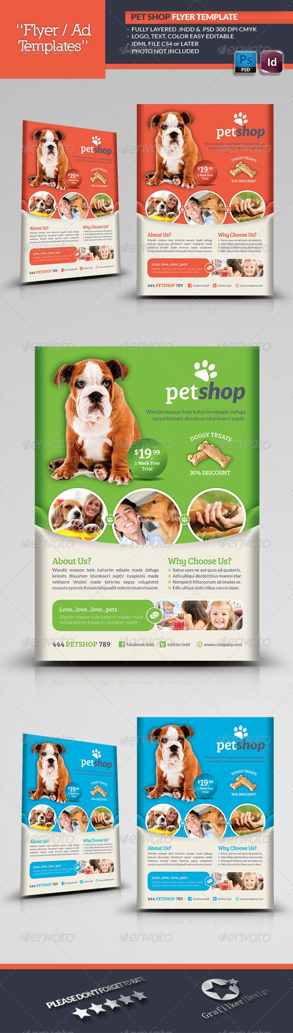 Puppy for Sale Flyer Templates Beautiful Pet Care Banners Psd Templates and Animal Shelter Pet