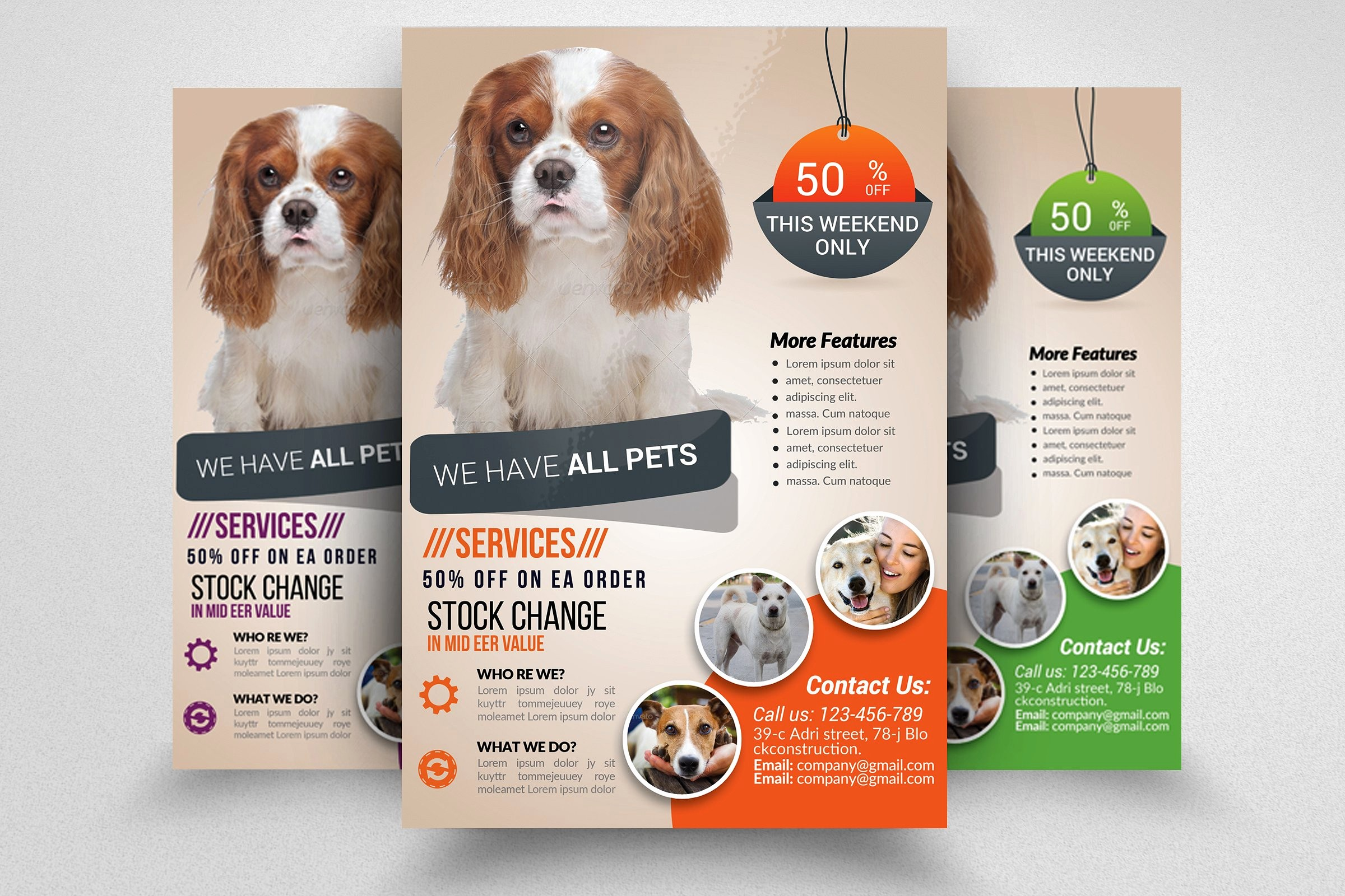 Puppy for Sale Flyer Templates Lovely Pet Shop Business Flyer Template Flyer Templates