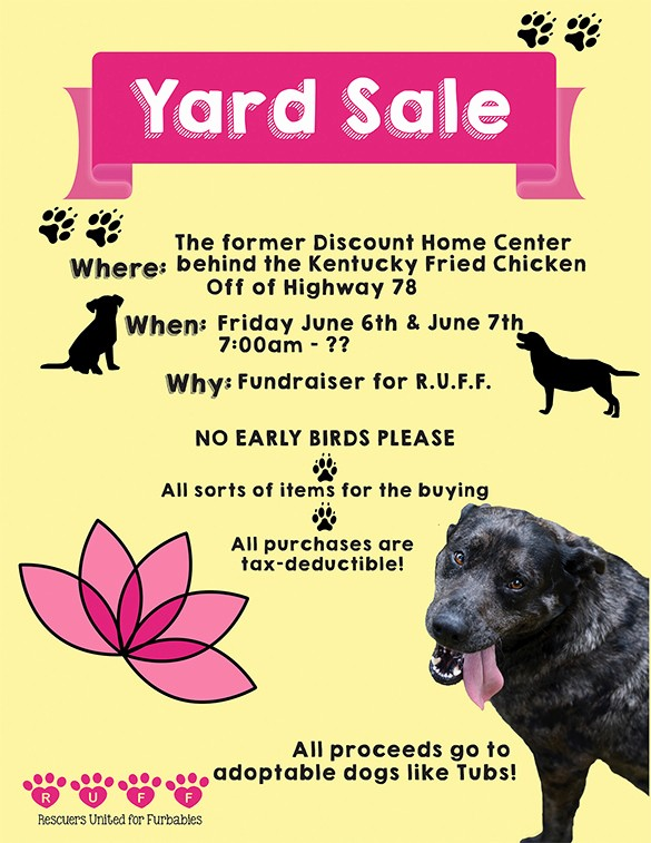 Puppy for Sale Flyer Templates Luxury 21 Best Yard Sale Flyer Templates & Psd Word Eps