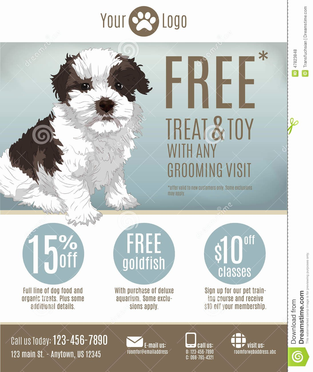 Puppy for Sale Flyer Templates New Puppy for Sale Flyer Templates Yourweek 793c47eca25e