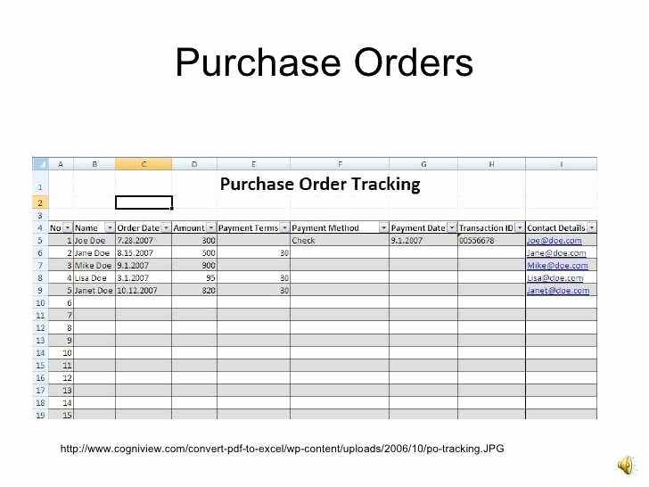Purchase order Tracking Excel Sheet Beautiful Purchase order Tracking Sheet Austinroofing