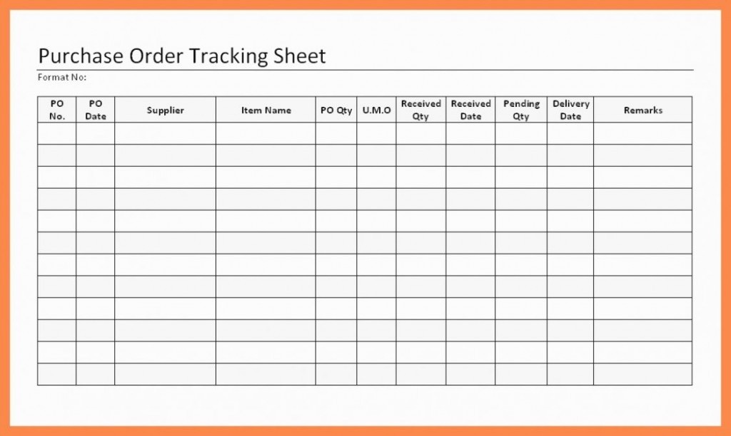 Purchase order Tracking Excel Sheet Best Of Purchase order Tracking Sheet Austinroofing