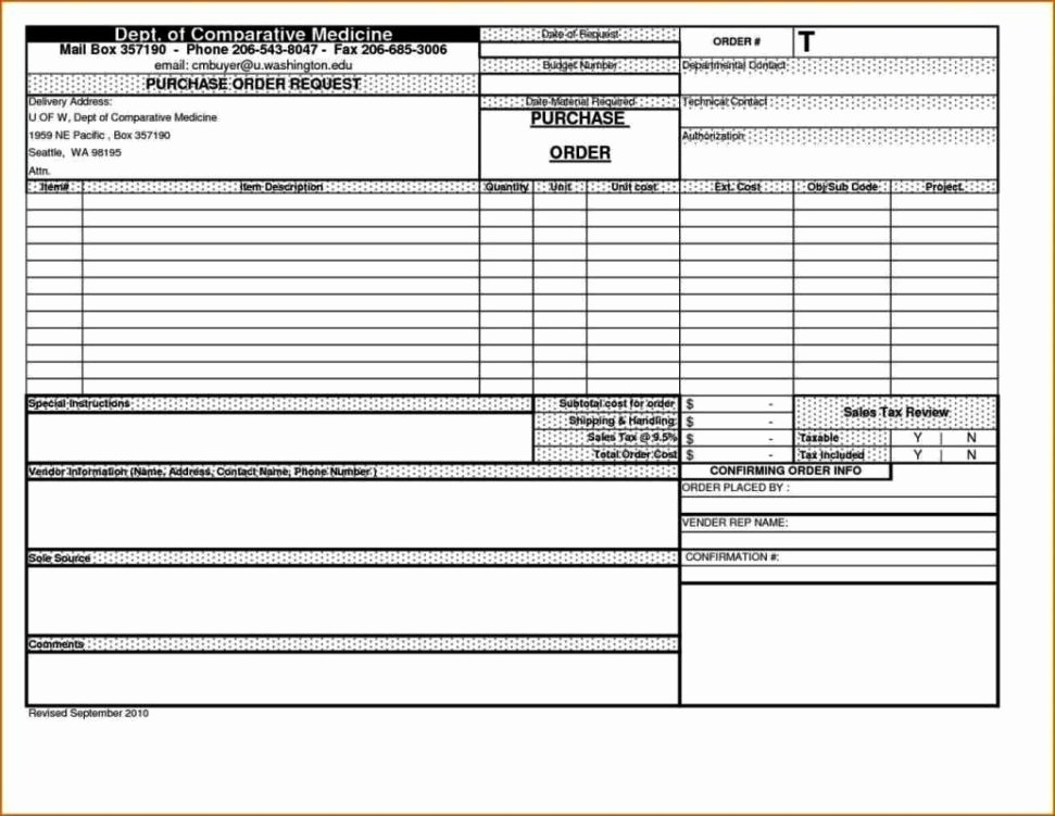 Purchase order Tracking Excel Sheet Elegant Purchase order Tracking Template Sampletemplatess