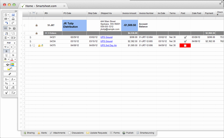 Purchase order Tracking Excel Sheet Luxury Purchase order Tracking Template Excel – Joseblogisekub