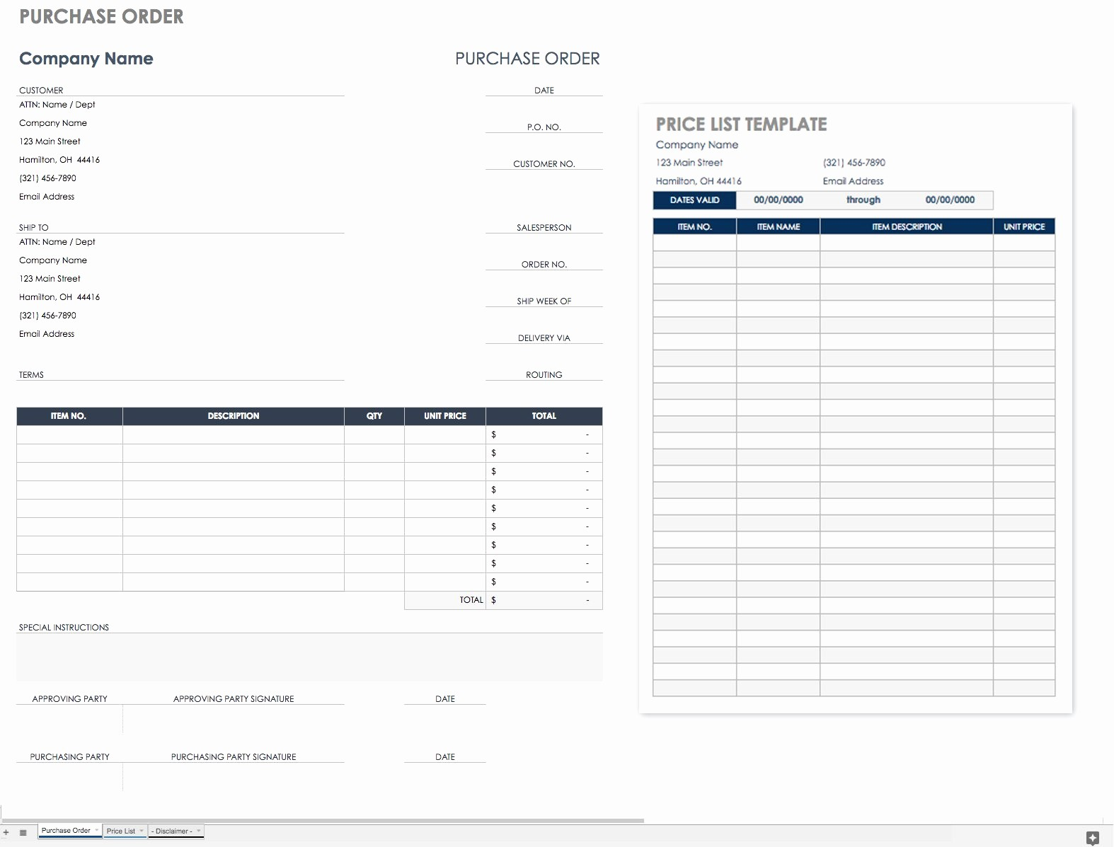 Purchase order Tracking Excel Spreadsheet Beautiful Free Purchase order Templates Smartsheet Tracking Excel