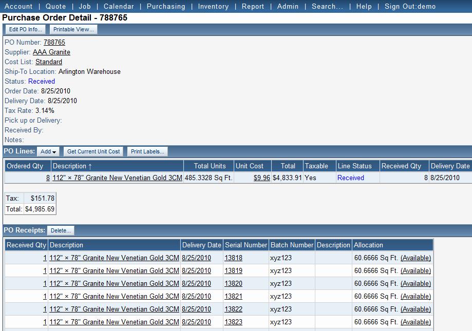 Purchase order Tracking Excel Spreadsheet Lovely Jobtracker Inventory