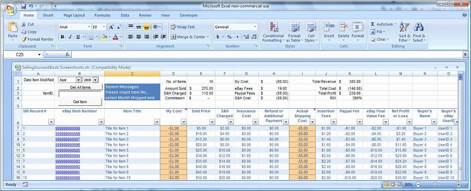 Purchase order Tracking Excel Spreadsheet New 2014 & 2015 Easy Auctions Tracker Ultimate Automated Excel
