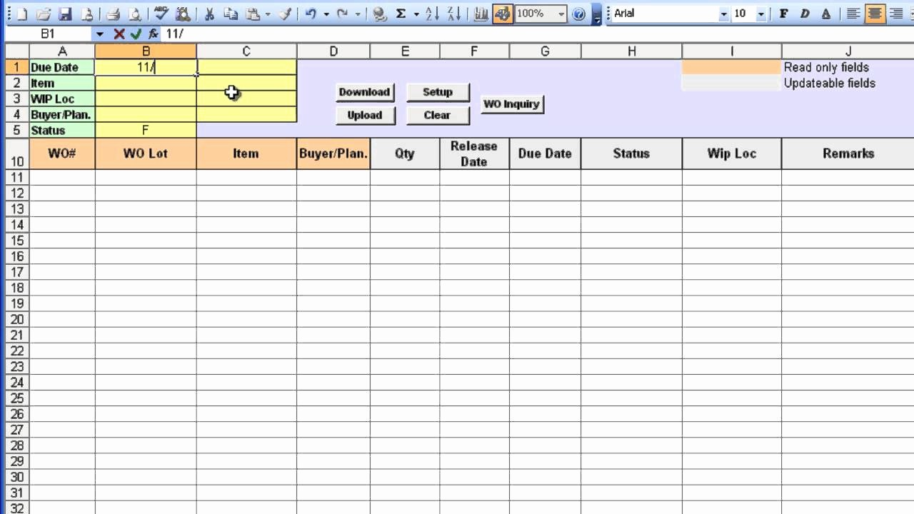 Purchase order Tracking Excel Spreadsheet Unique Purchase order Tracking Excel Spreadsheet – Spreadsheet