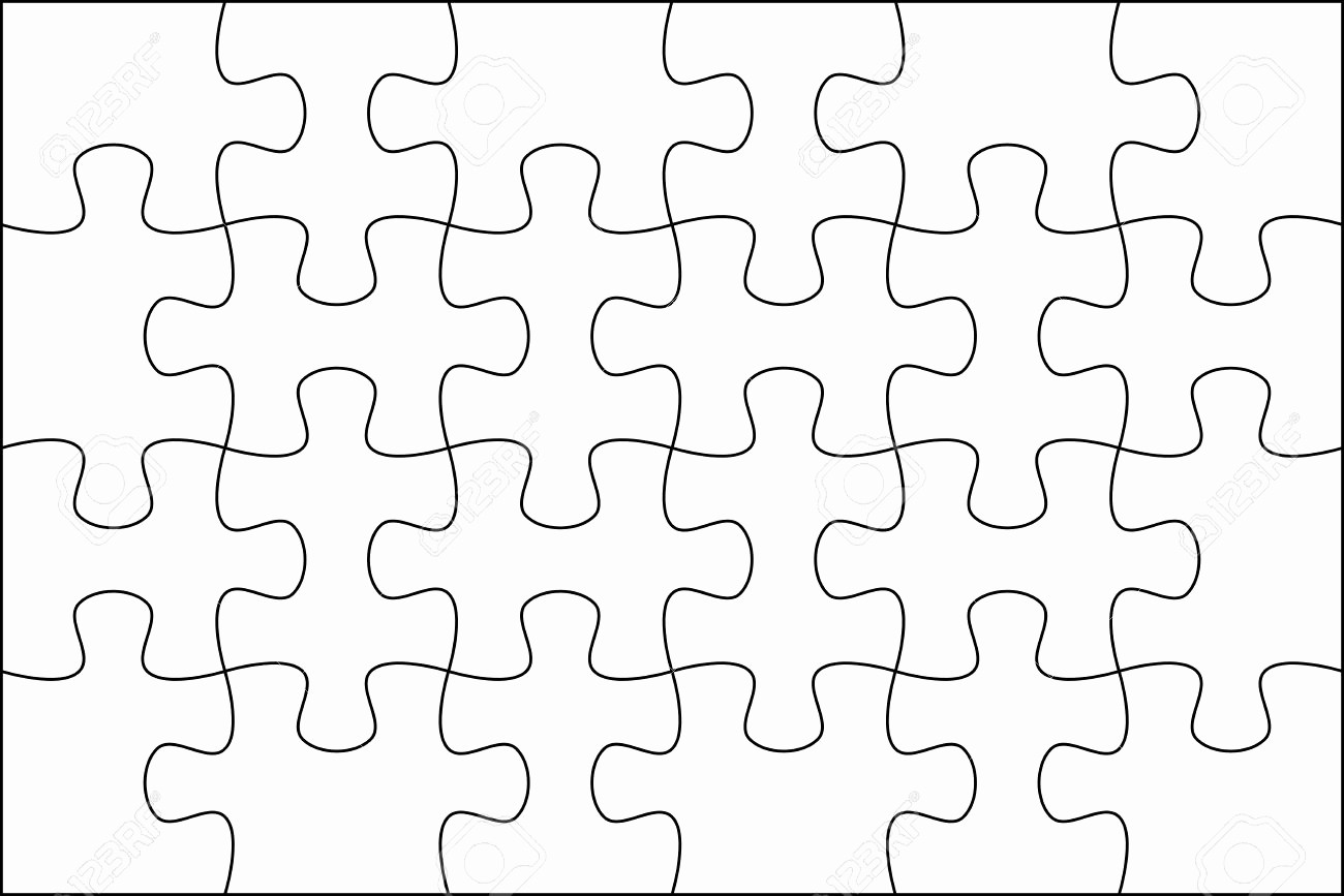Puzzle Pieces Template for Word Beautiful Template Inspiration Puzzle Template Puzzle Template