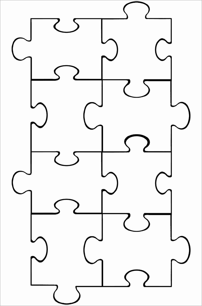 Puzzle Pieces Template for Word Best Of Puzzle Piece Template 19 Free Psd Png Pdf formats