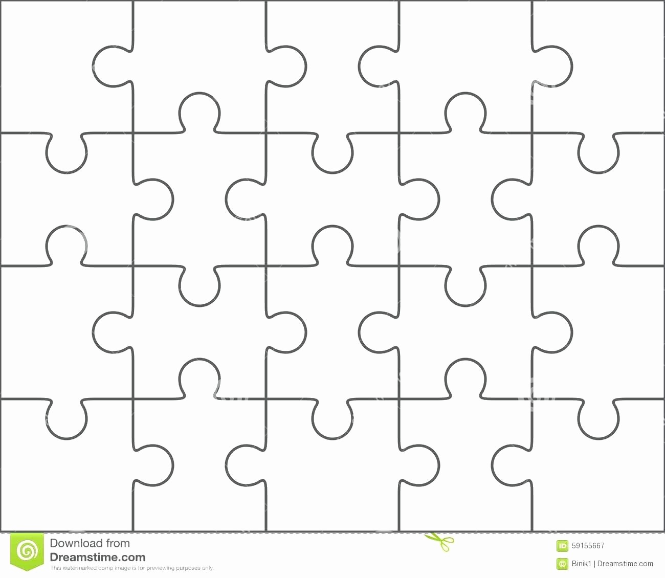 picture regarding Printable Puzzle Pieces Template referred to as Puzzle Parts Template for Term Least difficult Of Template 5 Piece