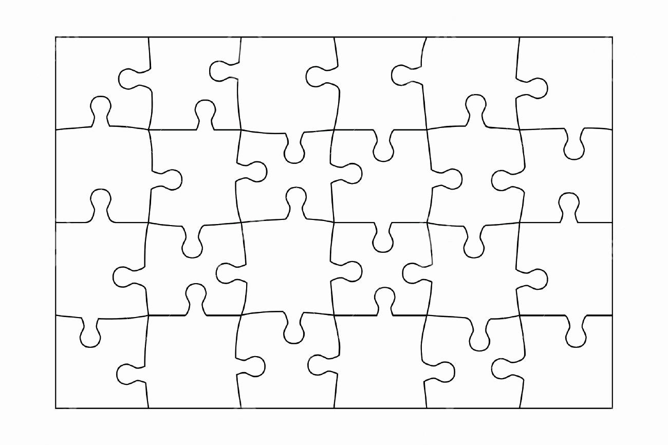 Puzzle Pieces Template for Word Elegant Template Jigsaw Template