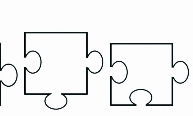 Puzzle Pieces Template for Word Fresh Printable Blank Puzzle Pieces Template – Takesdesign