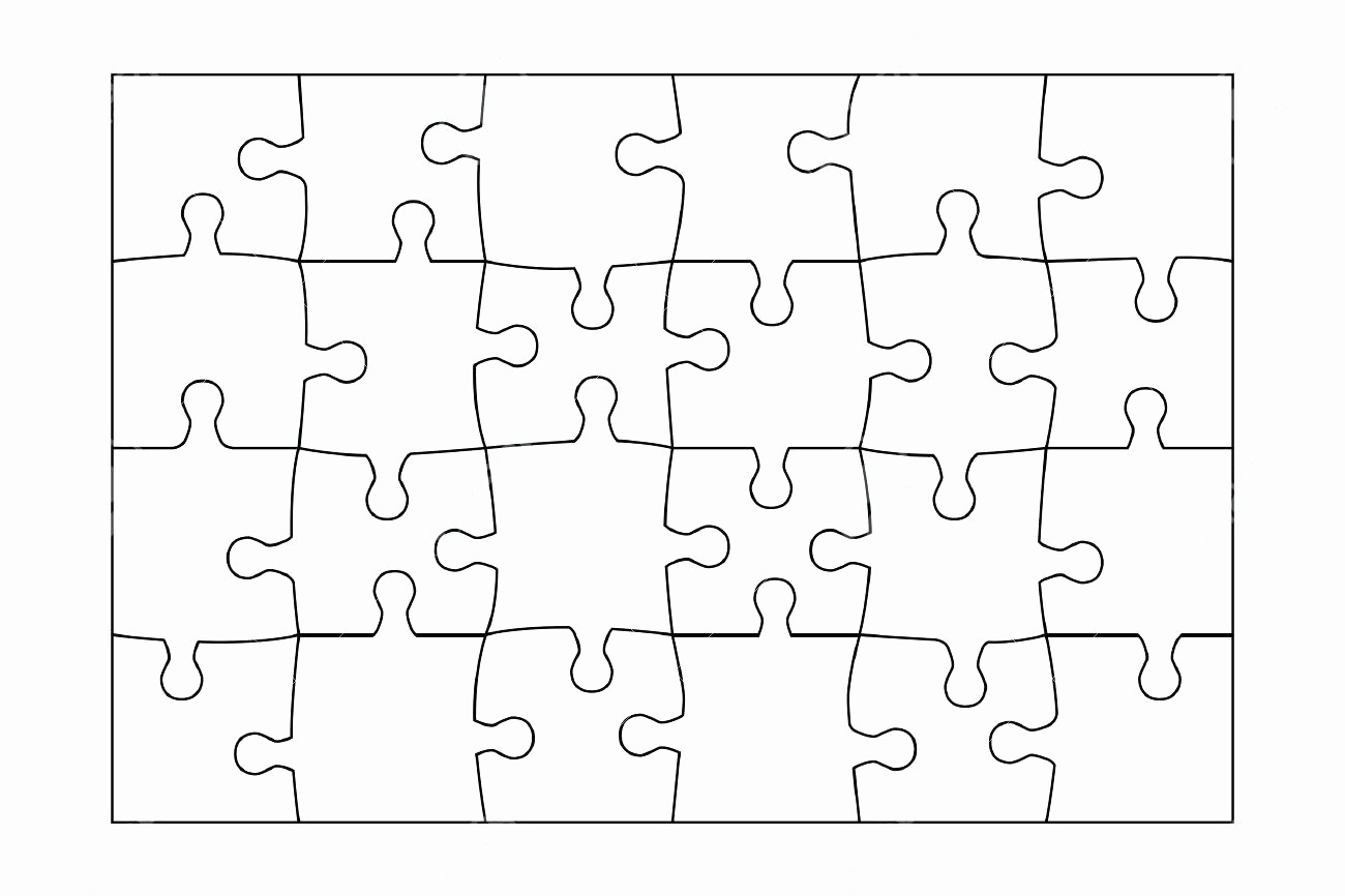 Puzzle Pieces Template for Word Fresh Puzzle Pieces Template Printable