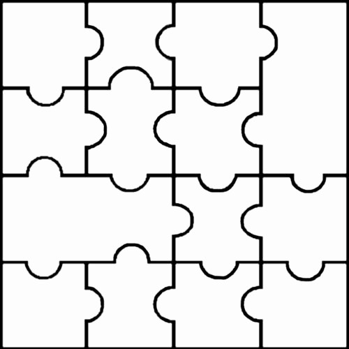 Puzzle Pieces Template for Word Inspirational Puzzle Clipart Empty Pencil and In Color Puzzle Clipart