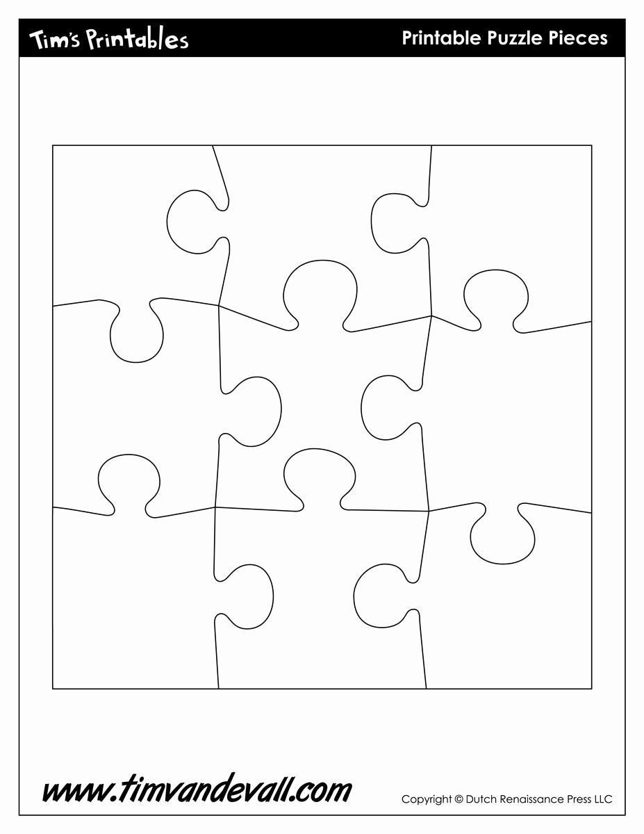 Puzzle Pieces Template for Word Inspirational Puzzle Template Tim Van De Vall