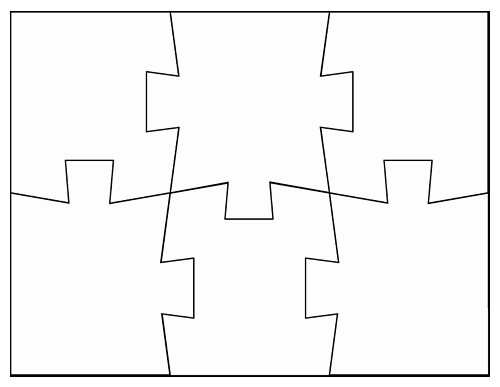 Puzzle Pieces Template for Word New Blank Jigsaw Puzzle Templates