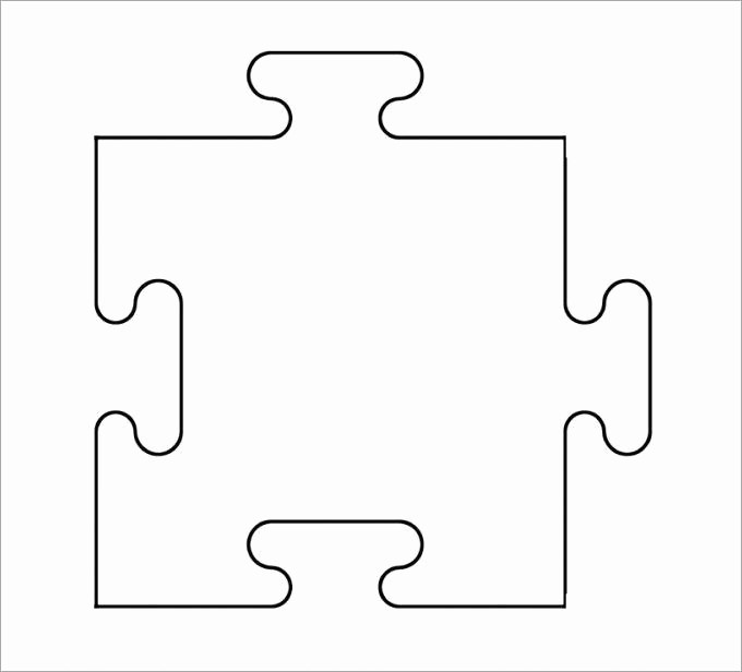 Puzzle Pieces Template for Word New Puzzle Piece Template 19 Free Psd Png Pdf formats