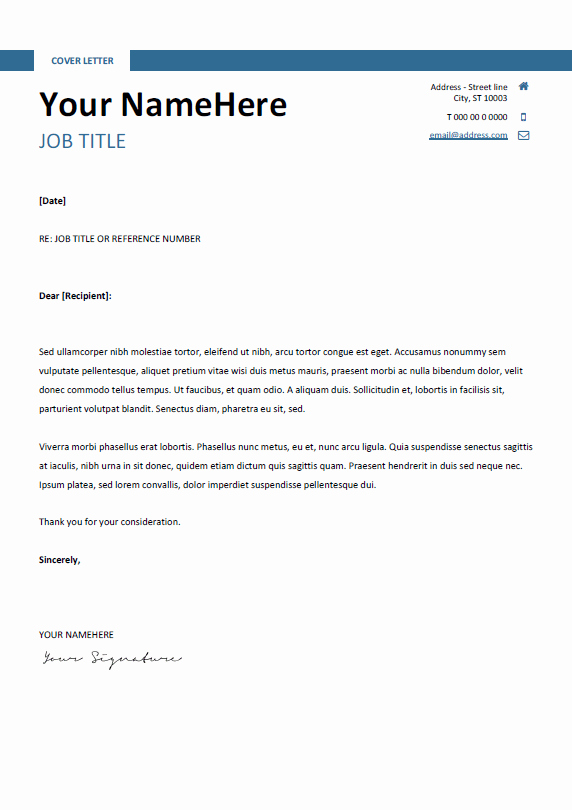 Quick and Easy Cover Letters Awesome Montjuic Clean and Simple Resume Template