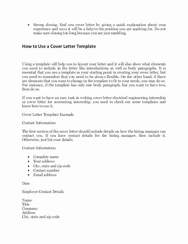 Quick and Easy Cover Letters Beautiful Easy Cover Letter Template – Amere