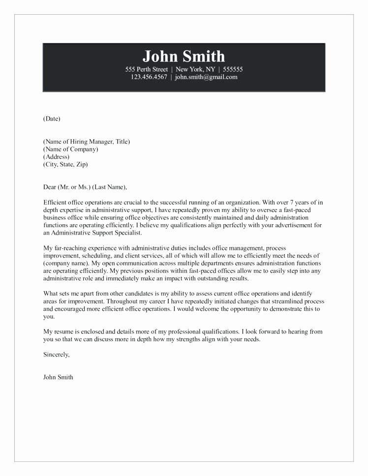 Quick and Easy Cover Letters New Fast Cover Letter Awesome Collection Fast Cover Letter