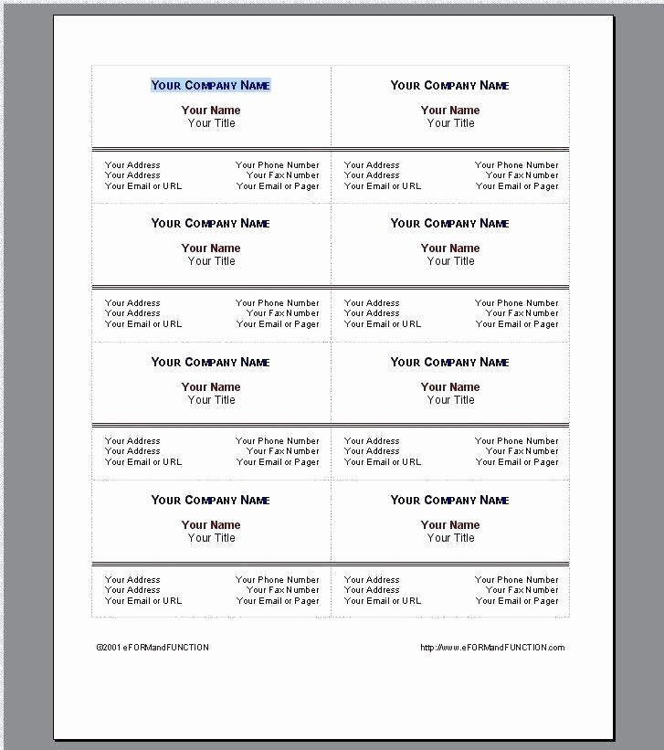 Quick Reference Card Template Word Elegant Quick Reference Card Template Word New Templates – Picks