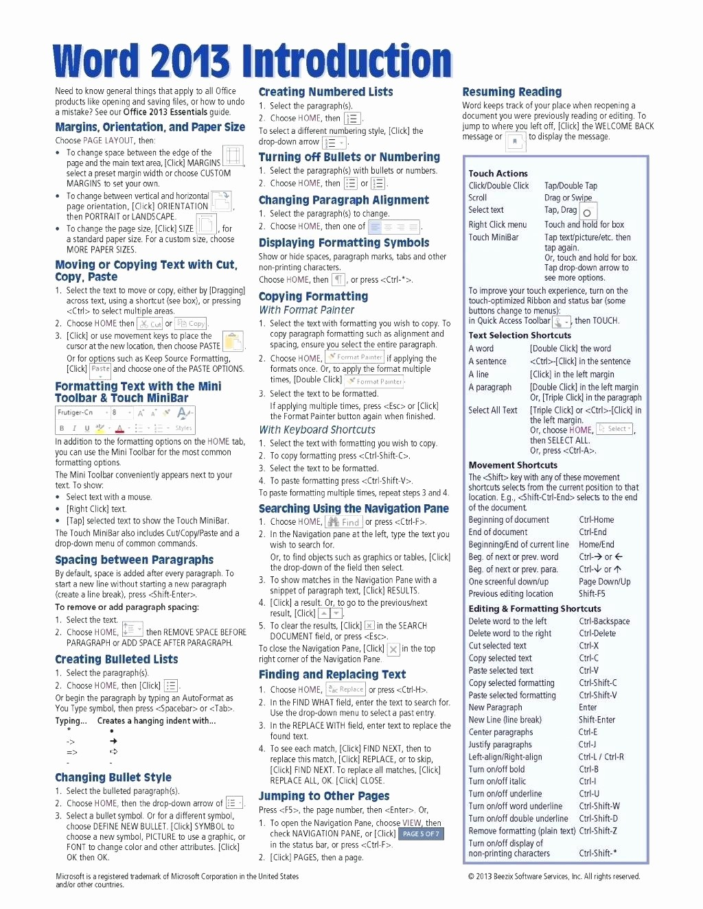 Quick Reference Card Template Word Inspirational Quick Reference Guide Template