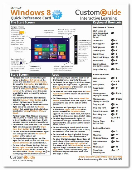 Quick Reference Card Template Word Luxury Download This Windows 8 1 Quick Reference Card