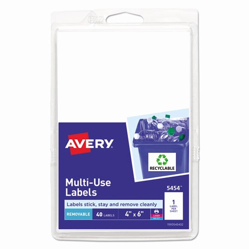 Quill Laser Address Labels Template Awesome Ave Avery Removable Multi Use Labels Zuma