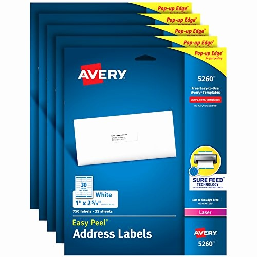 Quill Laser Address Labels Template Awesome Avery Labels 1 X 2 5 8 Template Avery Label Template