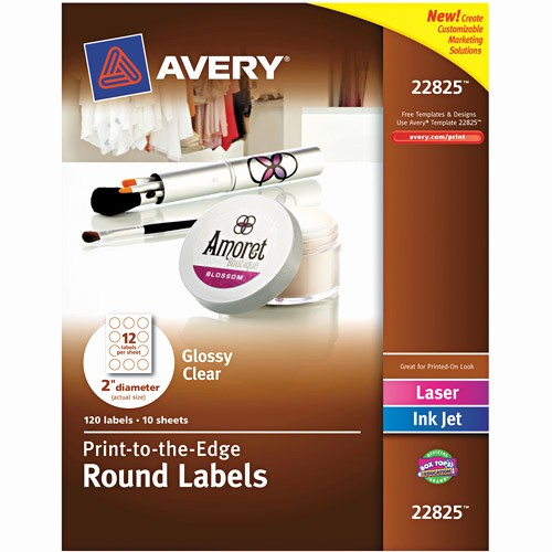 Quill Laser Address Labels Template Beautiful Avery Easy Peel Clear Mailing Labels Available In