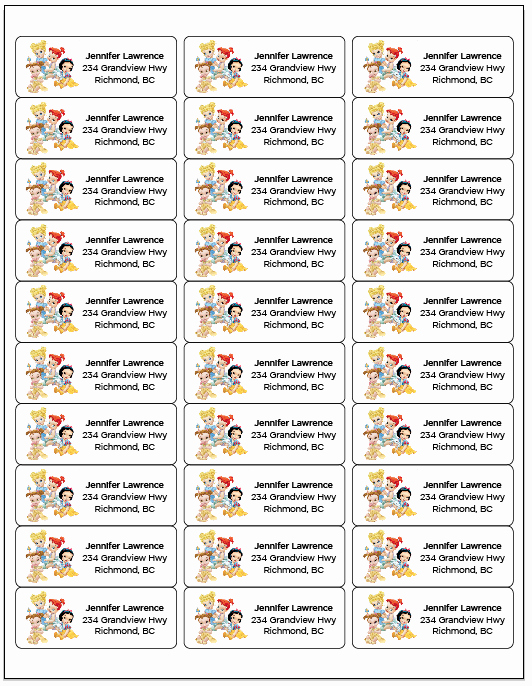 Quill Laser Address Labels Template Fresh Avery Return Labels Avery Return Address Labels 80 Per