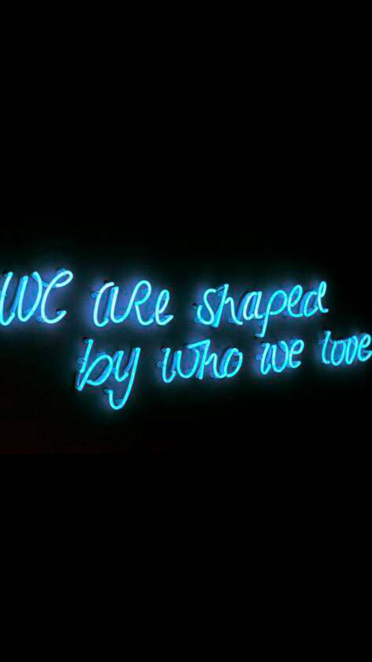 Quotes with the Word Blue Beautiful We Grew togheter Almost3years Neon Pinterest