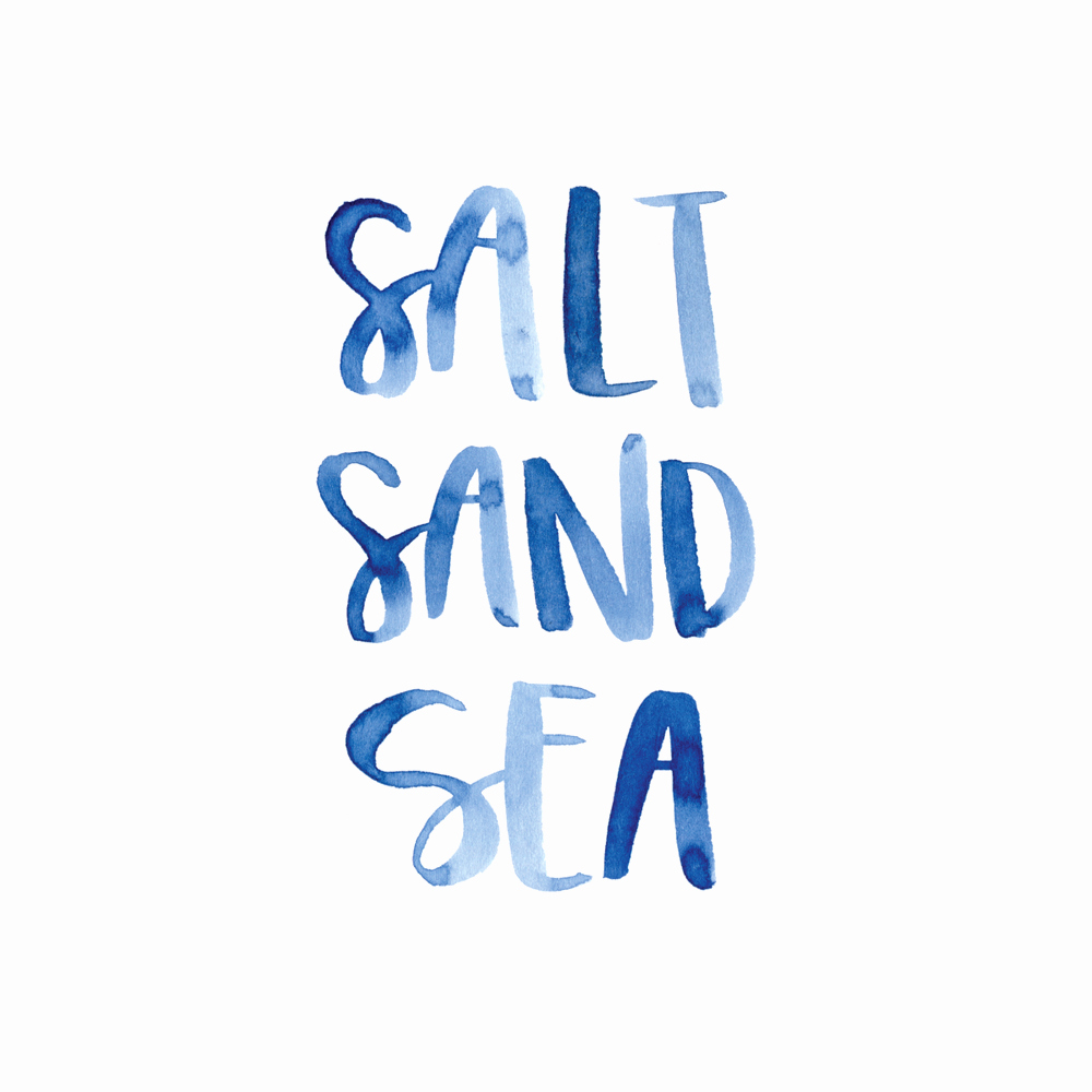 Quotes with the Word Blue Best Of Salt Sand Sea & Sun I Will Always Yearn to Be by the