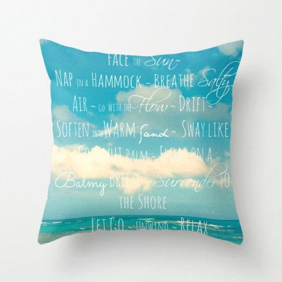 Quotes with the Word Blue Luxury Throw Pillows with Words Pillows with Sayings Blue Throw