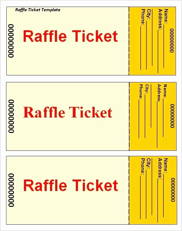Raffle Entry form Template Word Best Of Raffle Ballot Template Word Drawing Registration