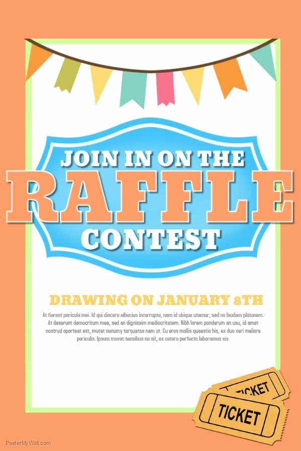 Raffle Flyer Templates Free Download Inspirational 22 Best Contest Posters Images On Pinterest
